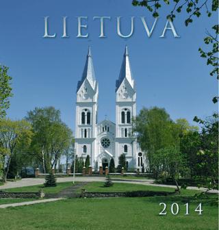"""2014 metų kalendorius """"Lietuva"""""""