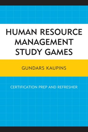 Human Resource Management Study Games