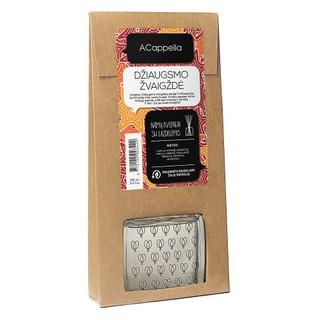 Namų kvapas su lazdelėmis ACappella Džiaugsmo žvaigždė, 100 ml