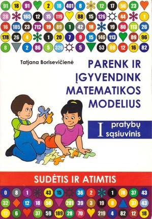 Parenk ir įgyvendink matematikos modelius: sudėtis ir atimtis