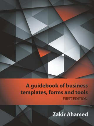 A Guidebook of Business Templates, Forms and Tools