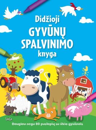 Didžioji gyvūnų spalvinimo knyga