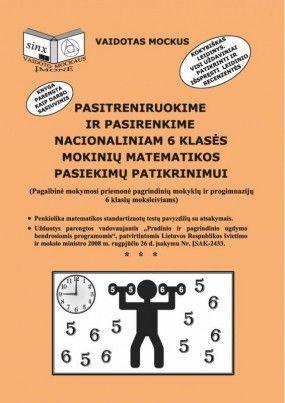 Pasitreniruokime ir pasirenkime nacionaliniam 6 klasės mokinių matematikos pasiekimų patikrinimui