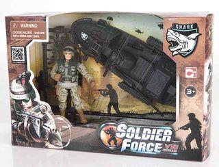 CHAP MEI rinkinys karinis Speed Patrol Soldier VIII 521001