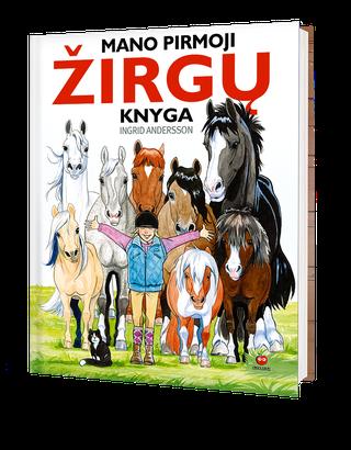 Mano pirmoji žirgų knyga