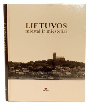 Lietuvos miestai ir miesteliai  (knyga su defektu)