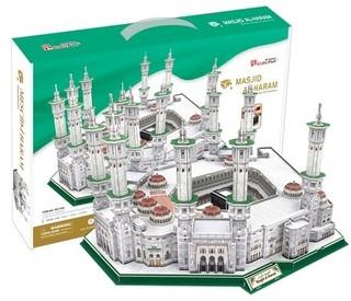 3D dėlionė: Masjid Al-Haram