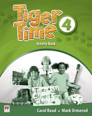 Tiger Time 4. Activity Book mit Stickerbogen