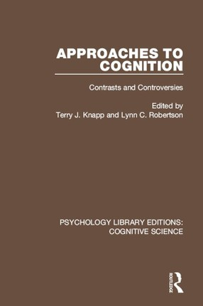 Approaches to Cognition