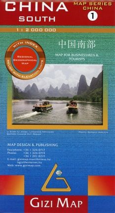 China South (1) Geographical Map 1 : 2 000 000