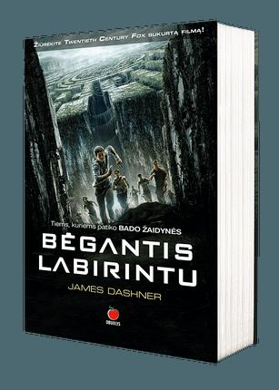 BĖGANTIS LABIRINTU: pasaulinis superhitas, lyginamas su bestseleriu BADO ŽAIDYNĖS - sveiki atvykę į ateities pasaulį, kuriame žaidžiama iš Tavo gyvybės...