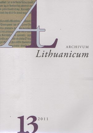 Archivum Lituanicum 13