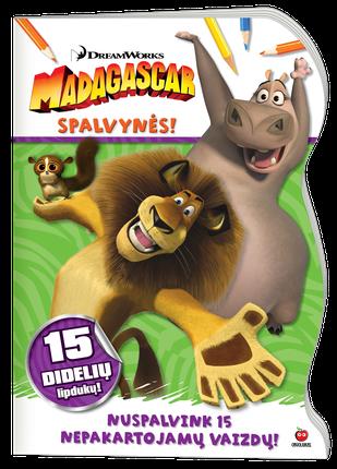 Madagaskaras. Spalvynės