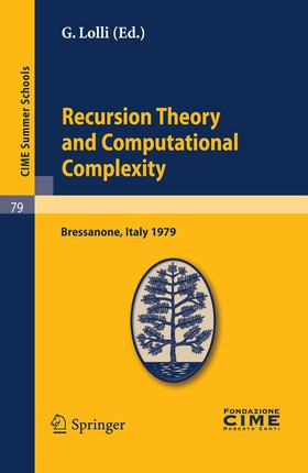 Recursion Theory and Computational Complexity