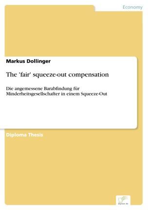 The 'fair' squeeze-out compensation