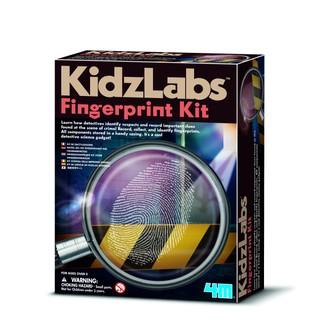 4M Vaikiška laboratorija: pirštų atspaudai