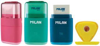 Trintukas – drožtukas MILAN TRI, įvairių spalvų