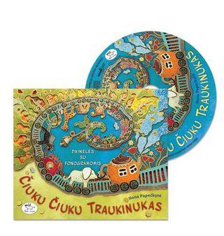 Čiuku čiuku traukinukas (cd)