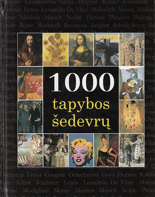 1000 tapybos šedevrų