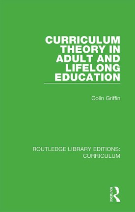 Curriculum Theory in Adult and Lifelong Education