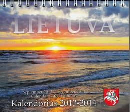 """2013-2014 metų kalendorius """"Lietuva"""""""