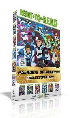 Paladins of Voltron Collector's Set: Allura's Story; Keith's Story; Lance's Story; Shiro's Story; Pidge's Story; Hunk's Story [With More Than 30 Stick
