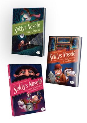 3 knygų rinkinys SEKLYS NOSELĖ