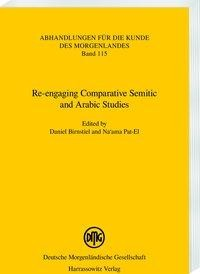 Re-engaging Comparative Semitic and Arabic Studies
