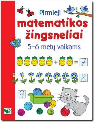 Pirmieji matematikos žingsneliai 5-6 metų vaikams