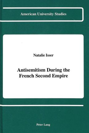 Antisemitism During the French Second Empire