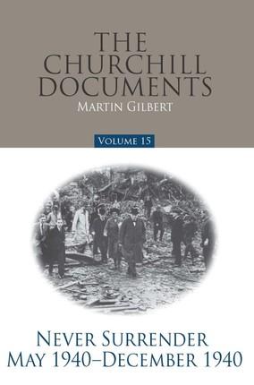 Churchill Documents - Volume 15