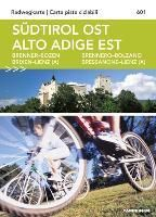 Radwegkarte Südtirol Ost 1 : 60.000
