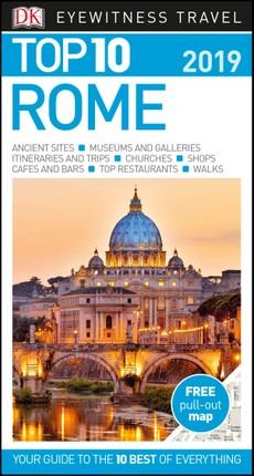 DK Eyewitness Top 10 Travel Guide Rome 2019