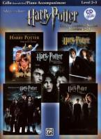 Harry Potter Instrumental Solos for Strings (Movies 1-5): Cello, Book & CD [With CD]