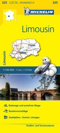 Michelin Localkarte Limousin 1 : 150 000