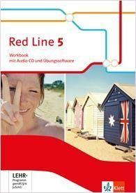 Red Line. Workbook mit Audio-CD und Übungssoftware 9. Schuljahr. Ausgabe 2014
