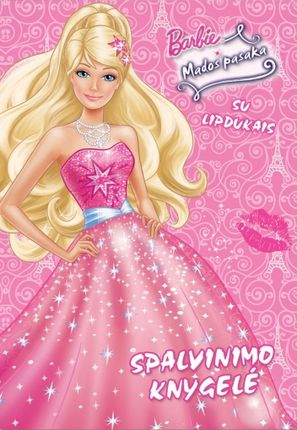 Barbie. Mados pasaka. Spalvinimo knygelė