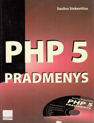 PHP 5 pradmenys (+CD)