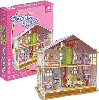 3D dėlionė: Sara's Home