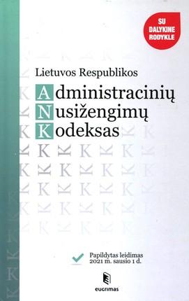 Lietuvos Respublikos administracinių nusižengimų kodeksas