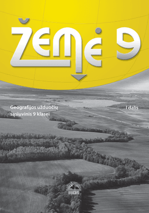 Žemė. Užduočių sąsiuvinis 9 kl. I d. (2015)