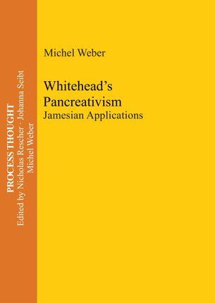 Whitehead's Pancreativism