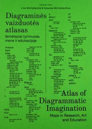 Diagraminės vaizduotės atlasas: žemėlapiai tyrimuose, mene ir edukacijoje. Atlas of diagrammatic imagination: maps in research, art and education