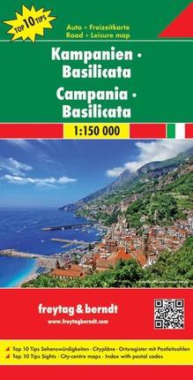 Kampanien - Basilicata 1 : 150 000