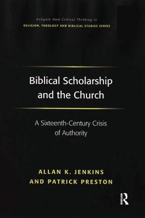 Biblical Scholarship and the Church