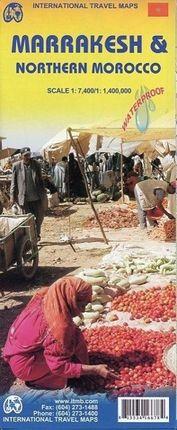 Marrakesh & Northern Morocco 1 : 7 400 / 1 : 4 000 000