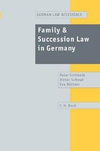 Family and Succession Law in Germany