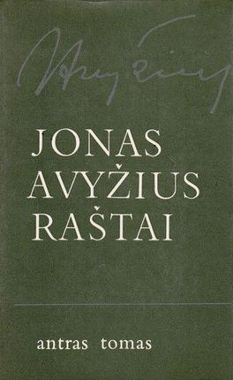 Jonas Avyžius. Raštai II