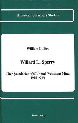 Willard L. Sperry