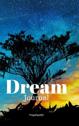 Guided Dream Journal   Hardcover 126 pages 6x9